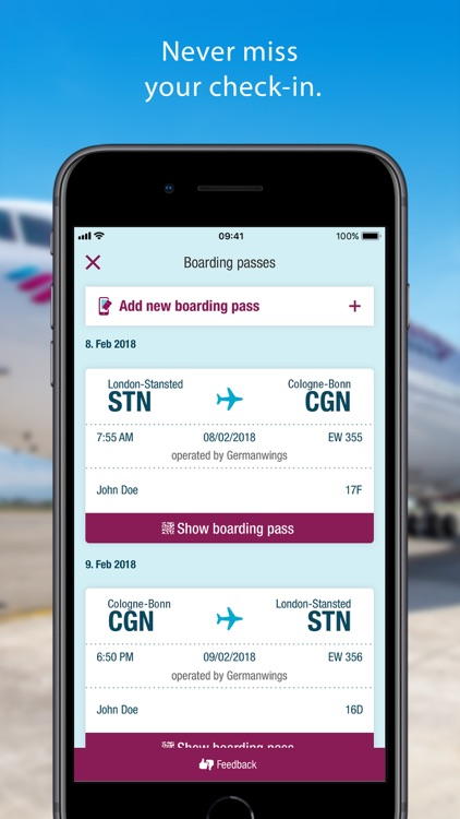Eurowings screenshot-3