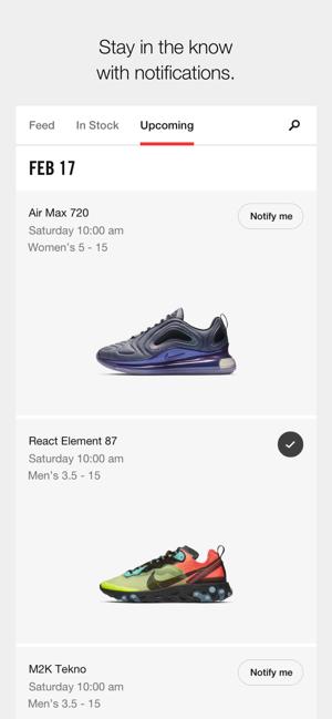 Store Nike On SnkrsSneaker Releases The App LMVzjqpGSU