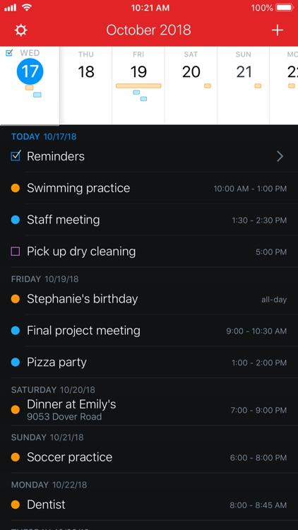 Fantastical 2 for iPhone screenshot-0