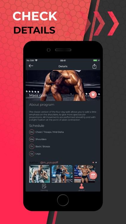 Fitum - gym tracker calendar