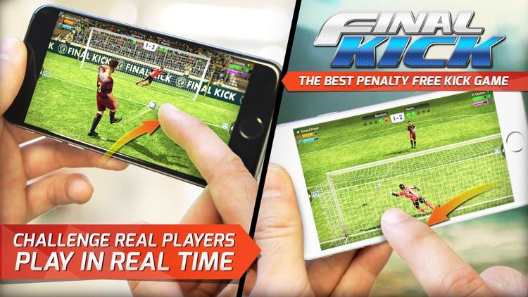 Final Kick: Online football screenshot-0