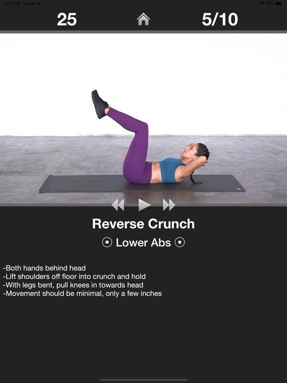 Daily Ab Workout - Abs Fitness-ipad-2