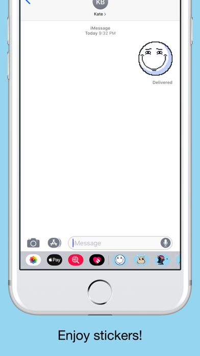 Pixel emoji - smiley stickers screenshot 5