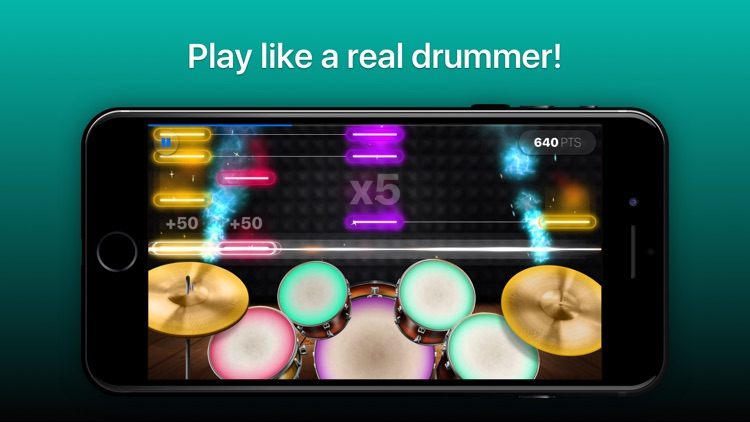 Drums - real drum set games screenshot-0