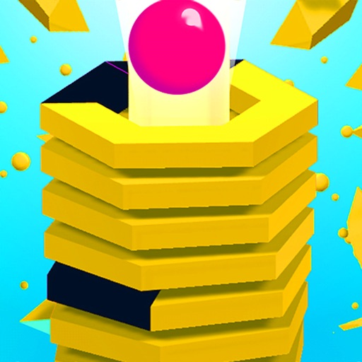 Stack Tower Ball 3D