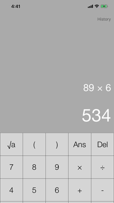 scientific calculator screenshot #1