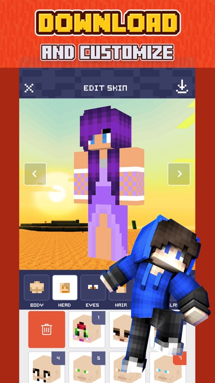Skins for Minecraft °