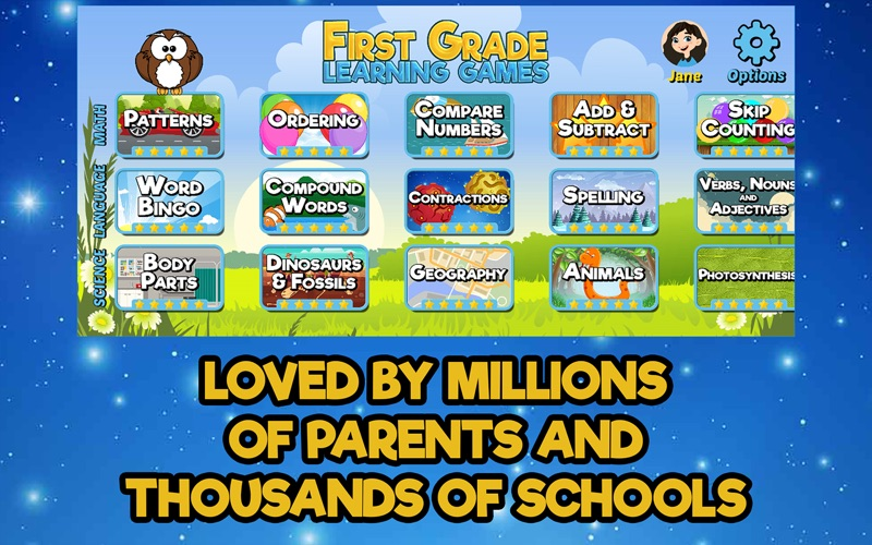 First Grade Learning Games screenshot 4