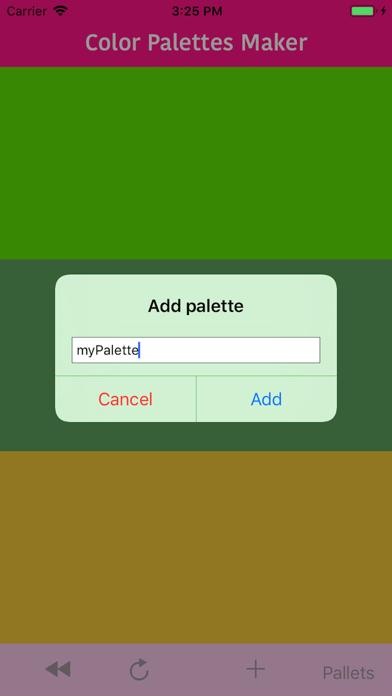 Color Palettes Maker screenshot #3