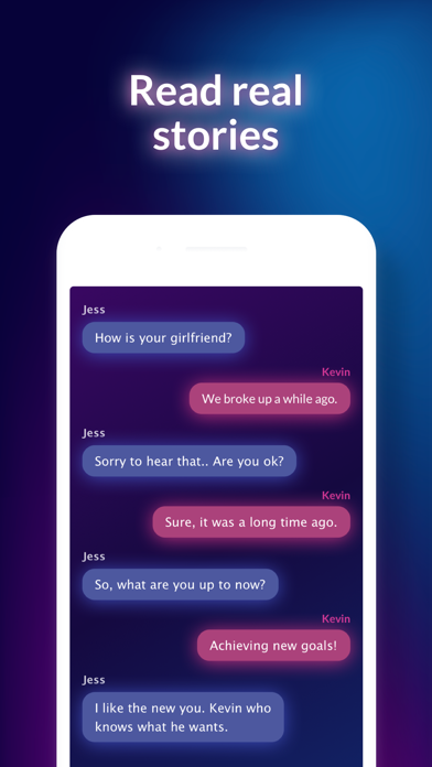 SECRET BOOK: text chat stories Screenshot