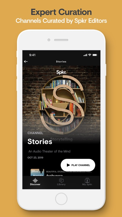 Spkr: Curated Podcast Radio screenshot-3