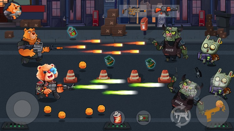 Bear Gunner : Zombie Shooter screenshot-4