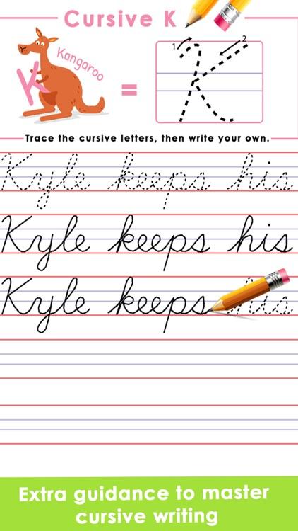 Learn Cursive Writing screenshot-4