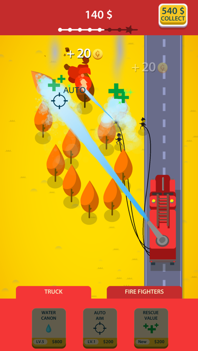 Idle Firetruck screenshot 2
