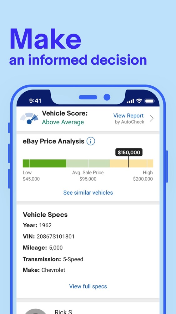 Ebay Motors Buy Sell Cars App For Iphone Free Download Ebay Motors Buy Sell Cars For Ipad Iphone At Apppure