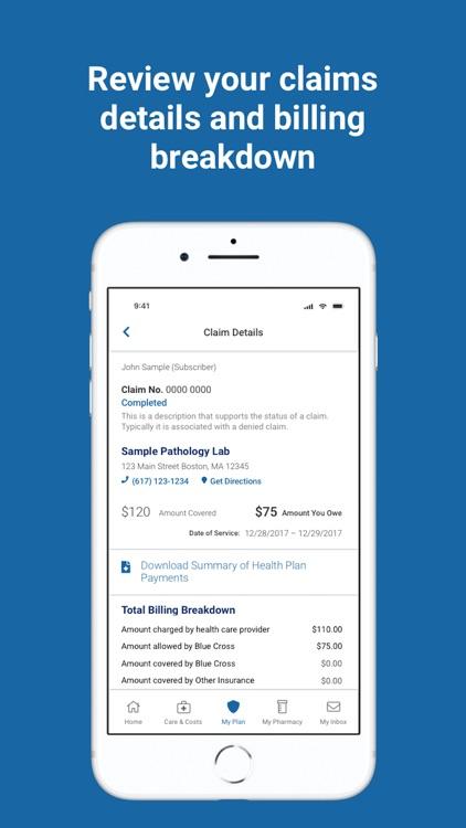 BCBSMA MyBlue Member App screenshot-7