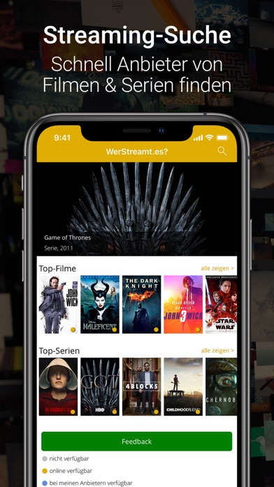 WerStreamt.es? Filme & Serien screenshot one