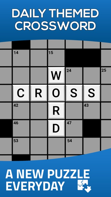 Daily Themed Crossword Puzzle screenshot-0