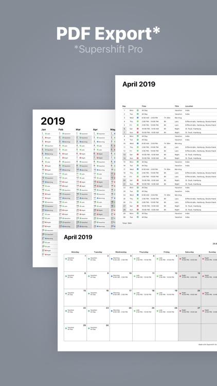 Supershift - Shift Schedule screenshot-5