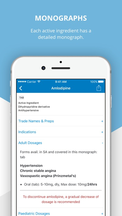 Screenshot for Essential Medical Guidance in South Africa App Store