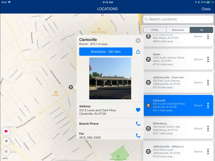 First Savings Bank,IN for iPad screenshot-6