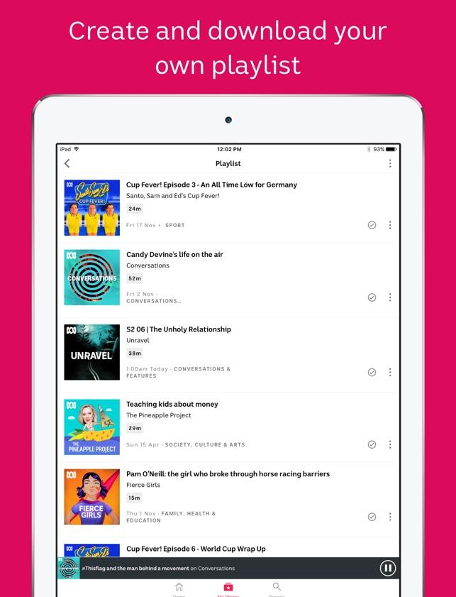 ABC listen on the App Store
