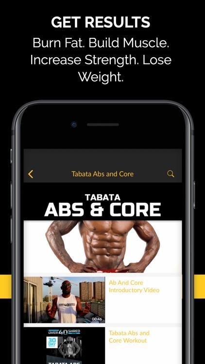 Over 40 Shred Fitness for Men screenshot-3