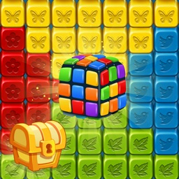 Toy Collapse:Crush Cube Puzzle