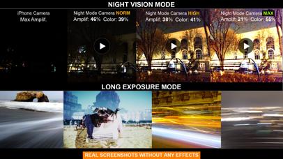 Night Mode-Long Exposure Video Screenshots