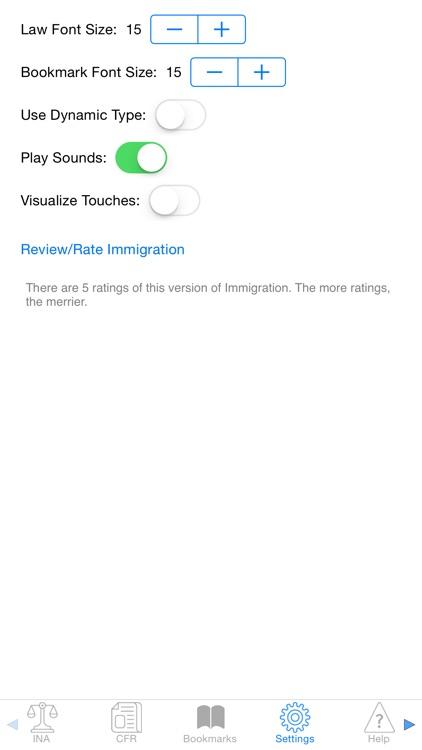 Immigration screenshot-3