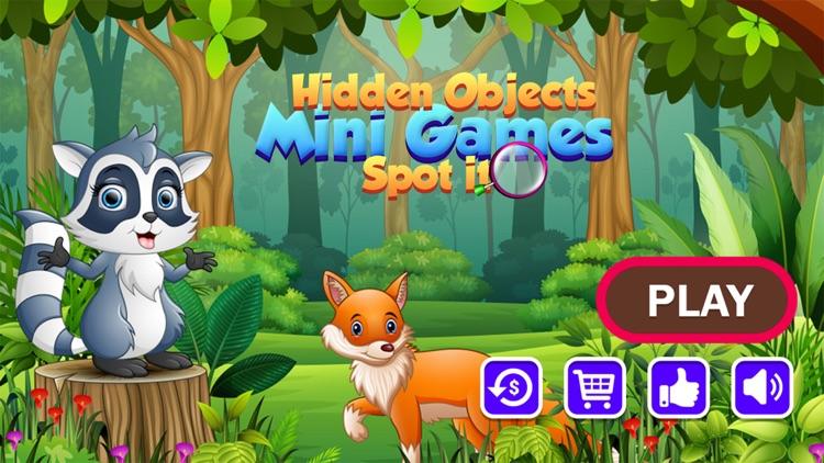 Hidden Objects Spot It Puzzles screenshot-5