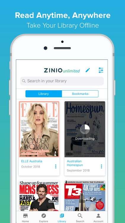 ZINIO Unlimited - Magazines by Zinio LLC