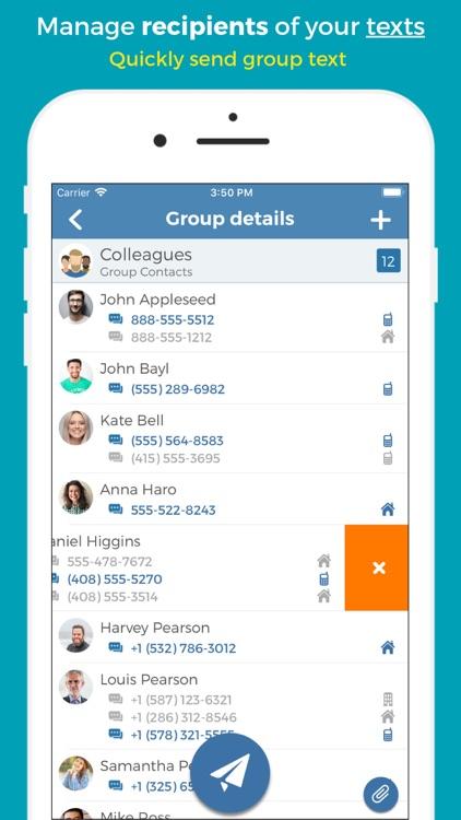 Groups - Group Text screenshot-0