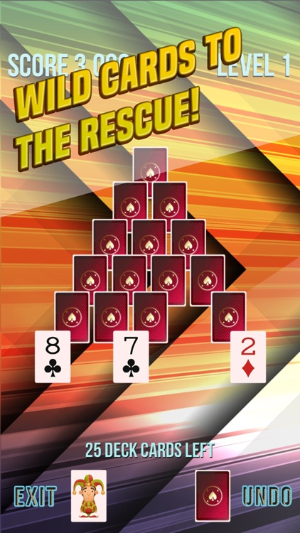 Pyramid Solitaire Supreme screenshot-3
