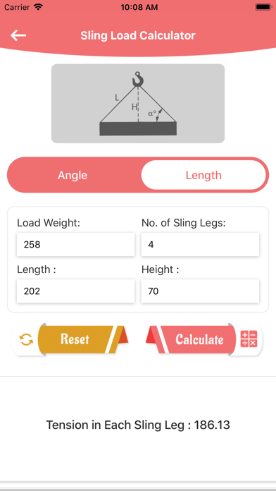 Sling load N Weight Converter screenshot 4
