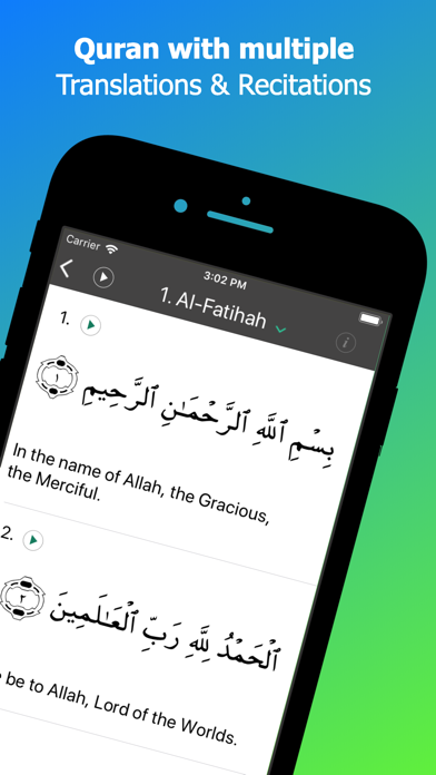 Screenshot #3 pour Calendrier islamique: Coran