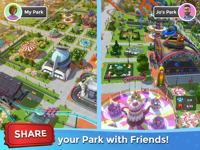 RollerCoaster Tycoon® Touch™ on the App Store