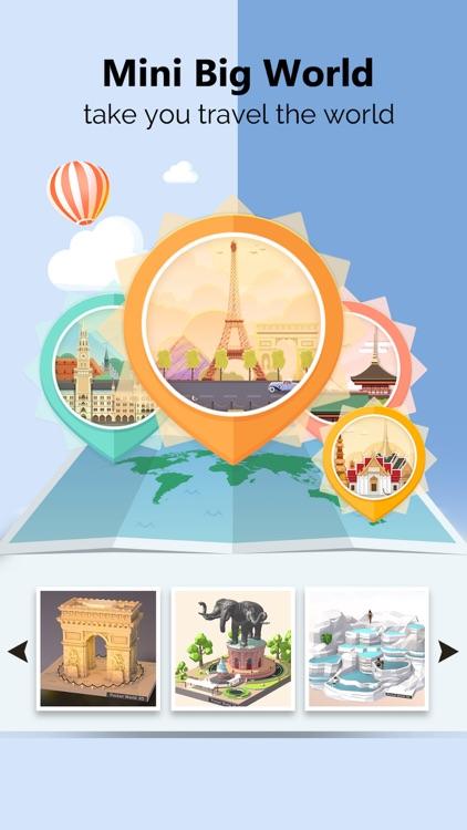 Pocket World 3D -unique puzzle screenshot-4