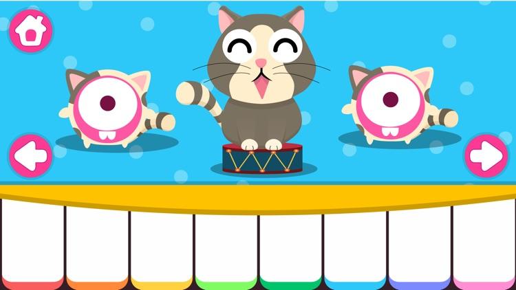 CandyBots Piano Kids Music Fun screenshot-3