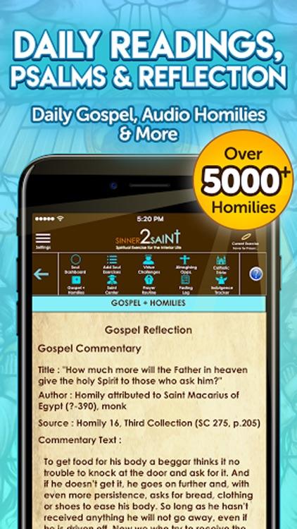 Sinner2Saint Best Catholic App screenshot-7