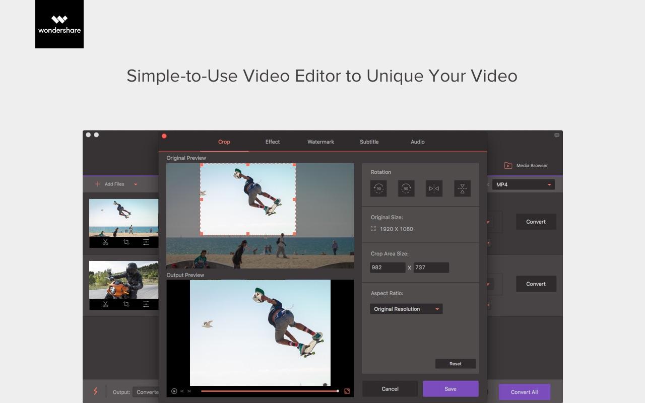 Screenshot do app VideoConverterPro