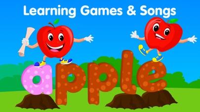 KidloLand Kids ABC Games Songs Screenshot