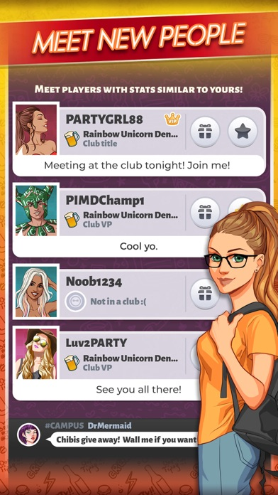 Party in my Dorm: College Game for windows pc