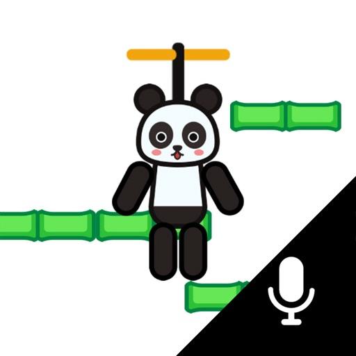 Flying panda-Voice control