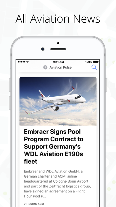 Aviation Pulse - News & Events screenshot one