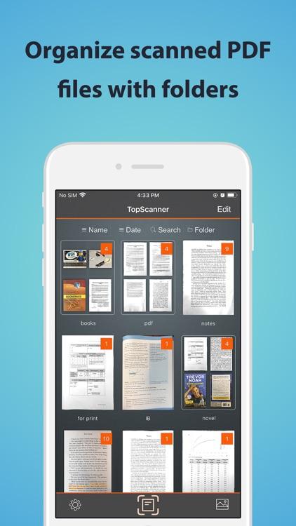 TopScanner : PDF Scanner App