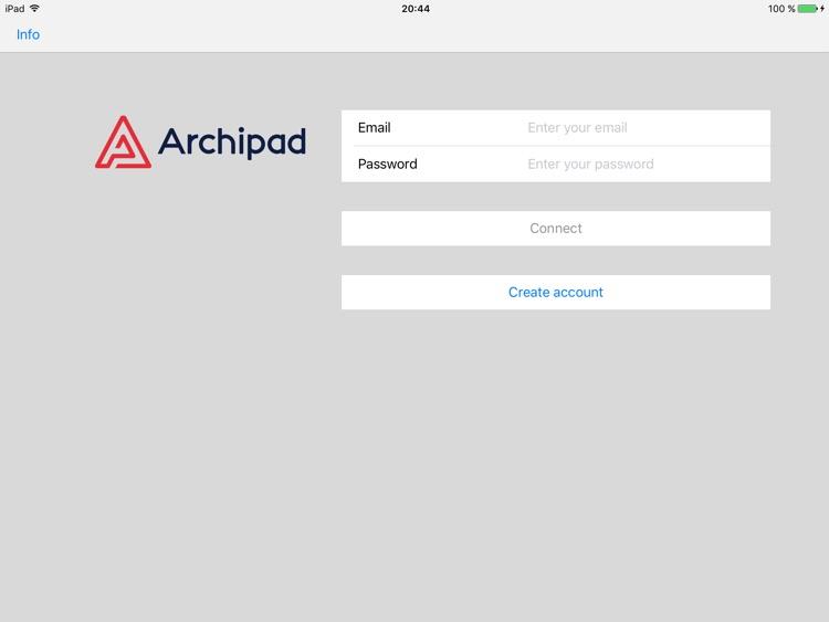 Archipad ™ screenshot-0