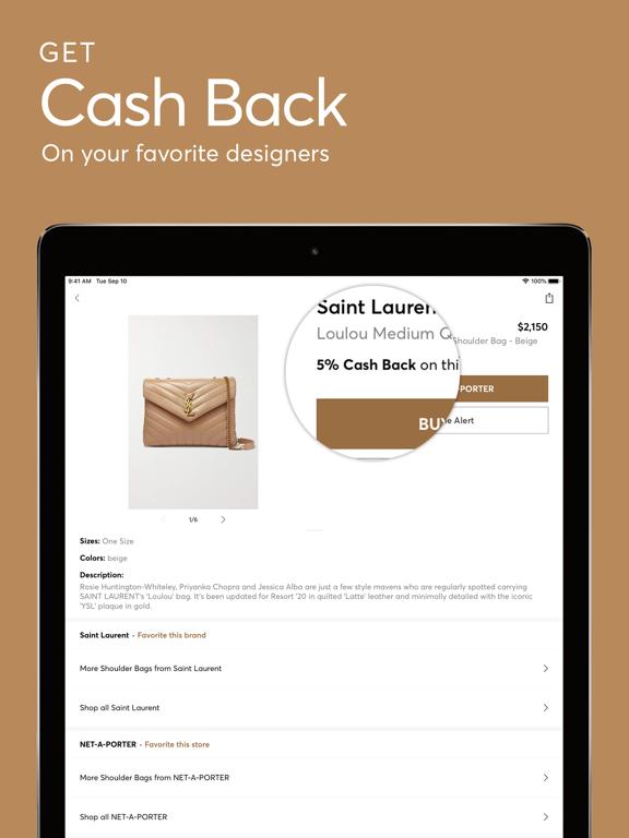 Screenshot #4 pour ShopStyle: Fashion & Cash Back