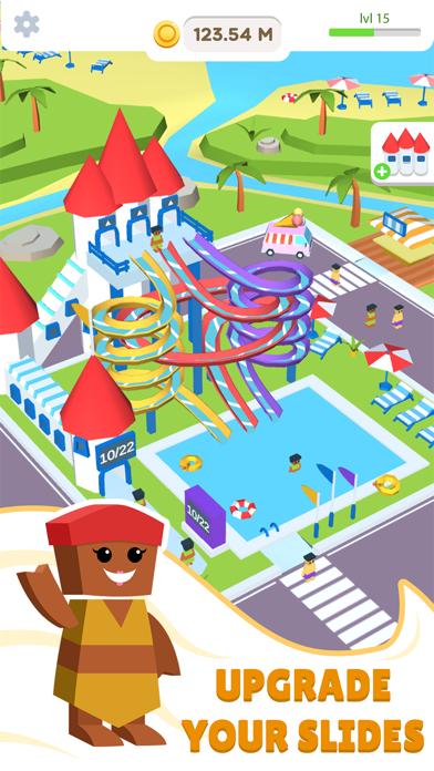Idle Waterpark 3D Fun Aquapark screenshot 1