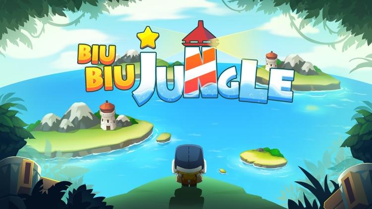 BiuBiu Jungle Puzzle screenshot-0